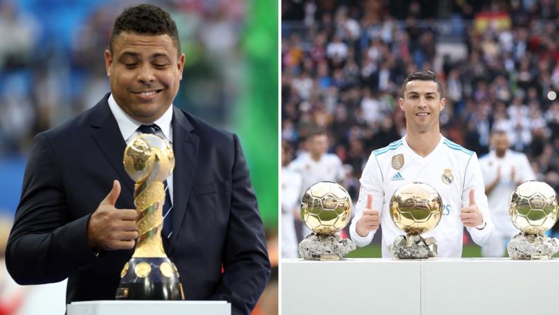 Luís Figo Asked Who He Would Choose Out Of Cristiano Or Ronaldo Luís Nazário