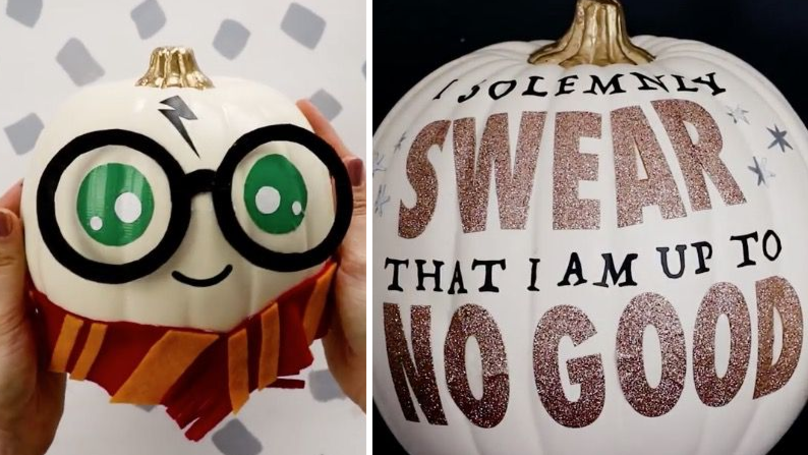 Harry Potter-Inspired Pumpkins Are The Most Spellbinding Halloween Trend This Year