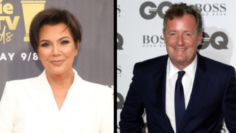 Piers Morgan Hits Out At Kris Jenner And Kardashians For 'Rich As F***' Bag