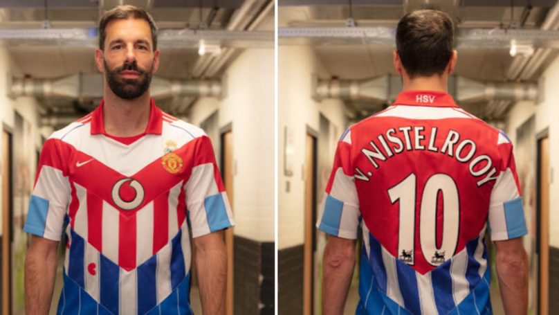 Ruud van Nistelrooy Gifted Insane Mash-Up Shirt To Celebrate His Career