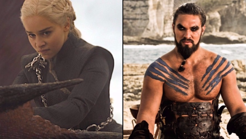 Kahl Drogo Is Mega Proud Of His Khaleesi After Latest 'Game Of Thrones' Episode