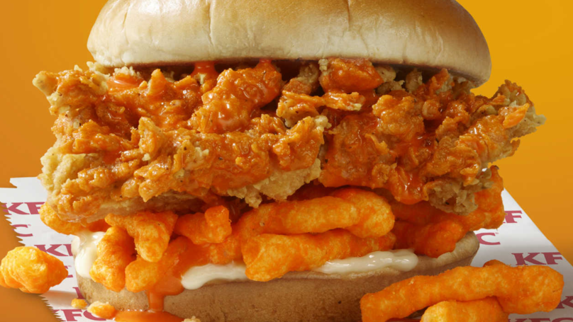 KFC To Roll Out 'Cheetos Sandwich' Across US Next Month