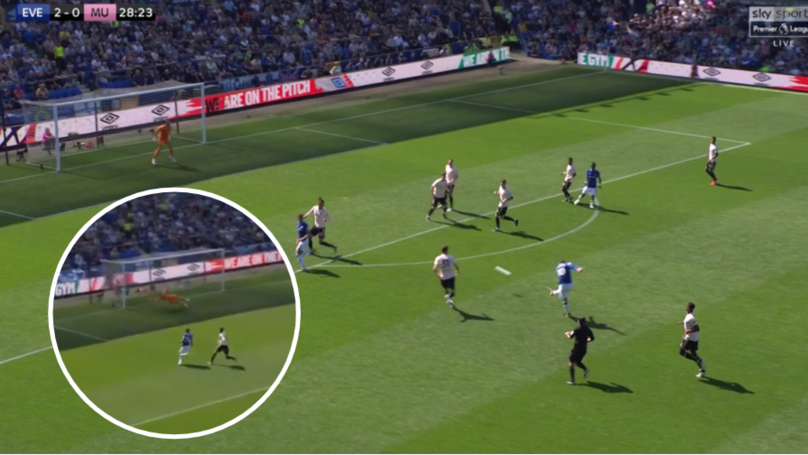 David De Gea Makes Huge Mistake As Manchester United Concede Second Goal Against Everton