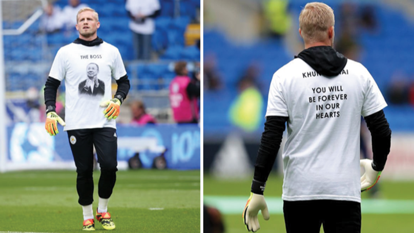 Leicester City Players Wear Special Shirts In Honour Of Vichai Srivaddhanaprabha