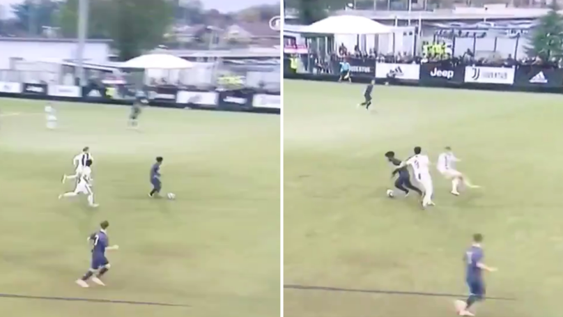 Manchester United's Angel Gomes Impresses In New Footage Against Juventus Under-19s