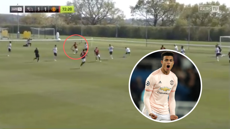 Mason Greenwood Scores Stunning Winner For Manchester United Against Derby County