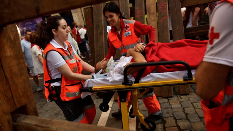 28 People Injured At Spanish Bull Run Festival