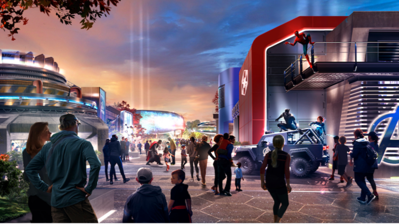 ​Disneyland Paris Unveils First Look At New Marvel Themed Area