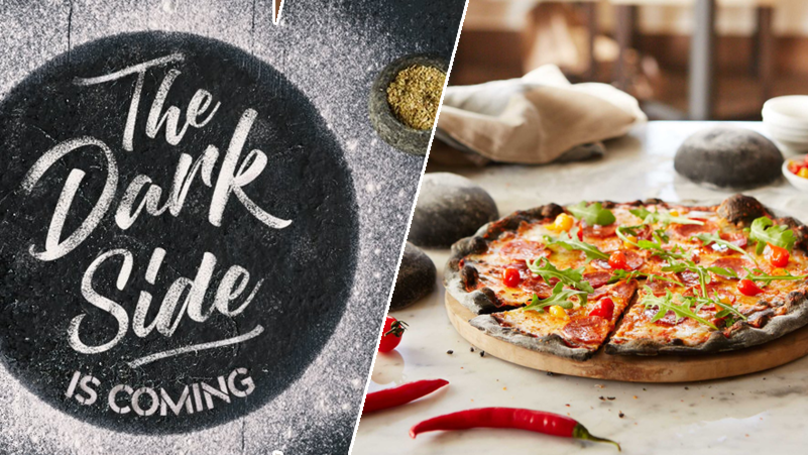 Prezzo Launches The UK's Very First 'Black Pizza' For National Pizza Day