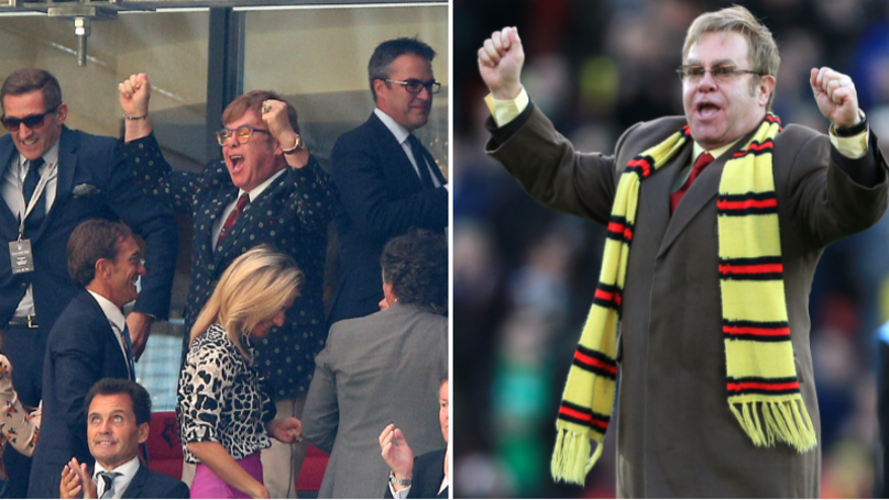 Sir Elton John Sent A Text To Watford Executive Chairman Urging Him To Sign Player