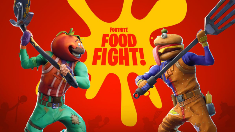 Fortnite Says Goodbye To Re-Deploying Gliders But Hello To Food Fight LTM
