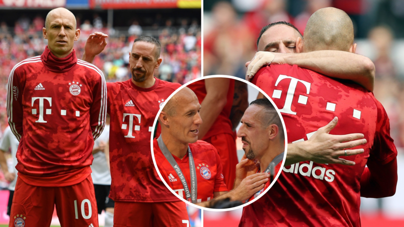 Classy Franck Ribéry Penned Emotional Tribute To Arjen Robben After He Retired