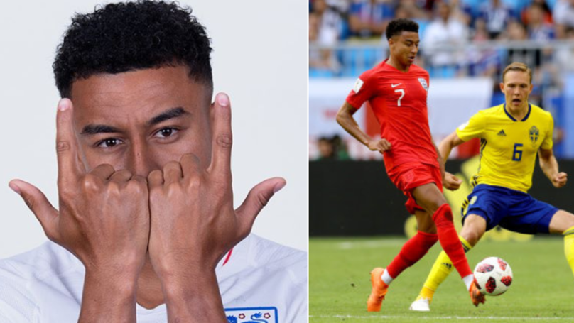Jesse Lingard's Passing Accuracy At The World Cup Is Genuinely Outrageous