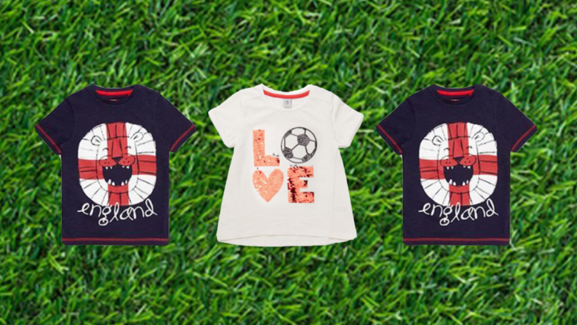 Sainsbury's Under Fire As Mums Brand World Cup Clothing Range 'Sexist'