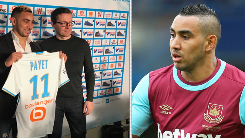 West Ham Release Brutally Honest Club Statement After Dimitri Payet Moves To Marseille