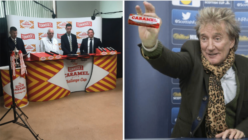 Scottish Challenge Cup Rebranded As 'The Tunnocks Caramel Wafer' Cup