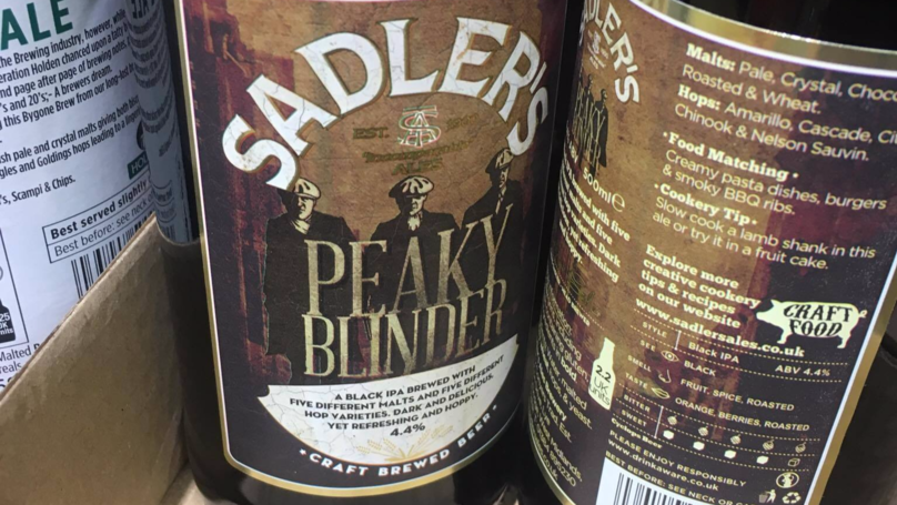 Aldi Is Now Stocking A 'Peaky Blinder' Beer