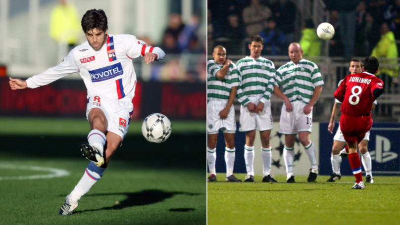 Juninho Pernambucano Explains How He Got So Good At Taking Free-Kicks