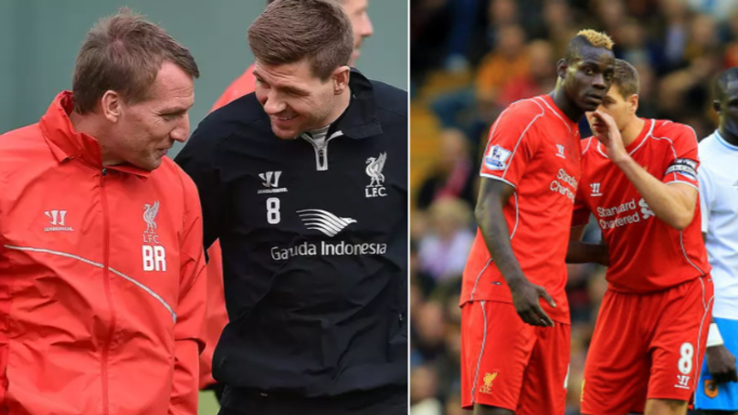 Steven Gerrard's Brilliant Response When Brendan Rodgers Said He Was Signing Mario Balotelli