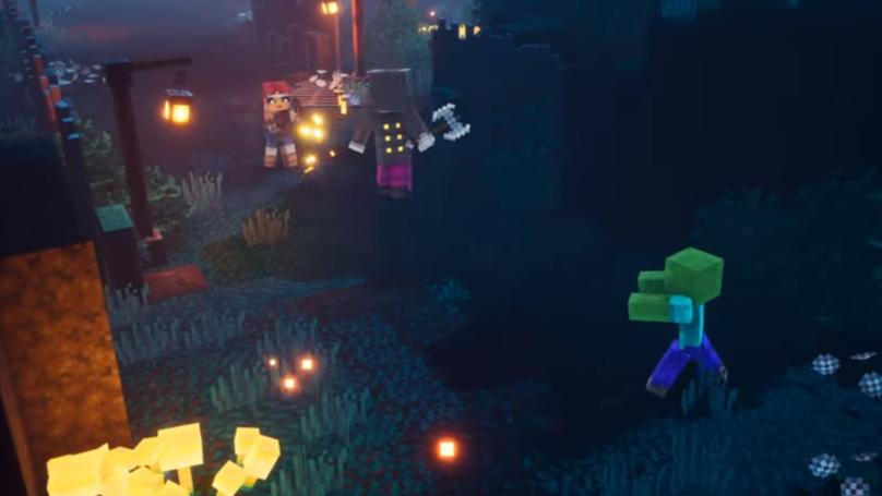 'Minecraft Dungeons' Is Minecraft Meets Diablo