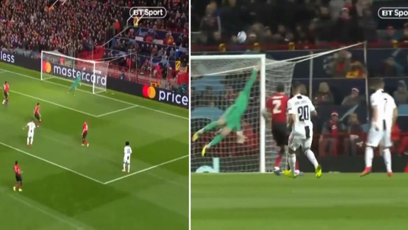 David De Gea Denies Cristiano Ronaldo A Worldie Strike On Old Trafford Return