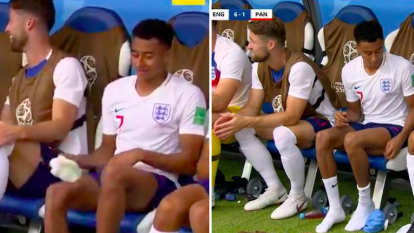 Jesse Lingard Does Keepy Uppies With Socks After MOTM Display