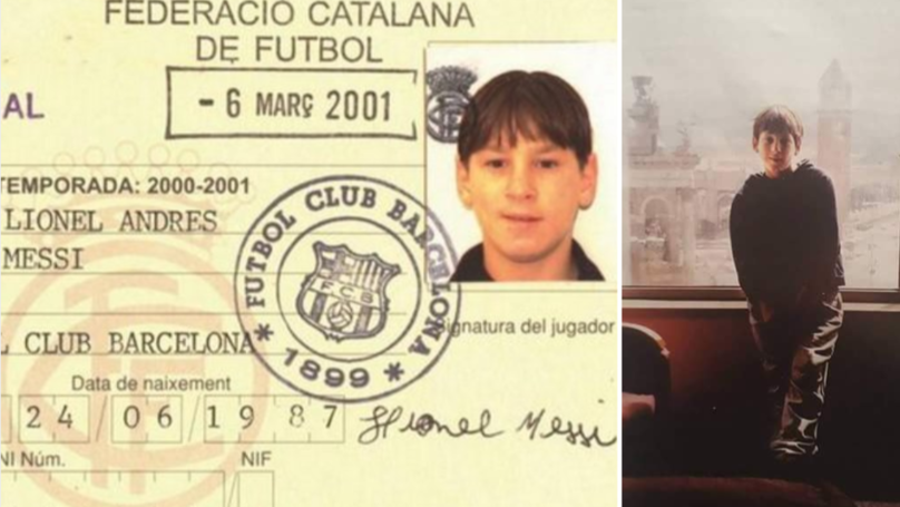 On This Day 18 Years Ago, A 13-Year Old Lionel Messi Arrived At La Masia