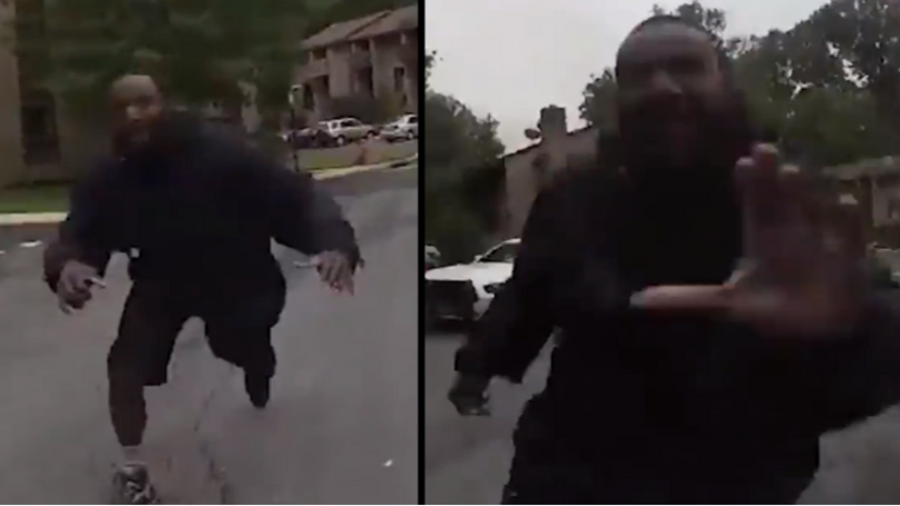 Police Release Bodycam Footage Of Fatal Encounter With Aggressive Man