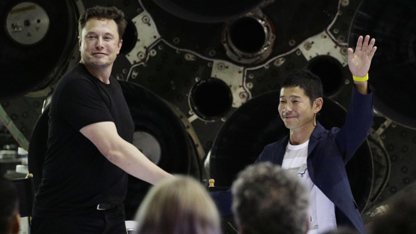 Elon Musk Reveals First Person Set To Go To Moon With SpaceX