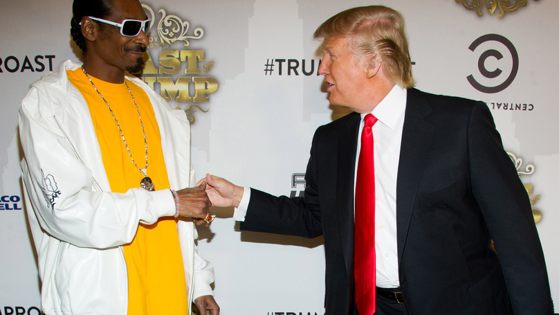 Snoop Dogg's Tweet About President Trump Causes Controversy