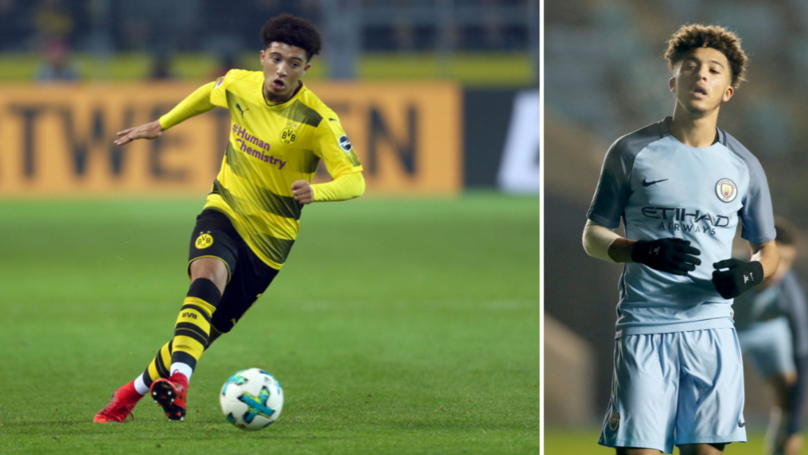 Jadon Sancho Reveals What Vincent Kompany Told Him Off For In City Training