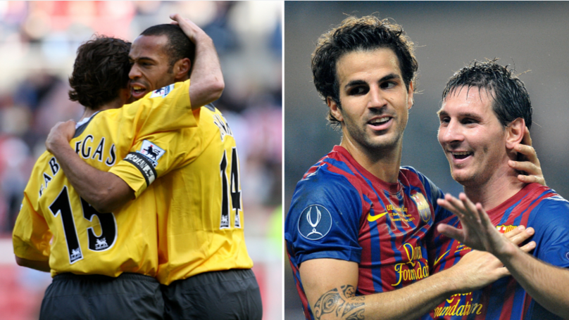 Cesc Fabregas Picks His Best XI Of Former Teammates And It's Outrageous