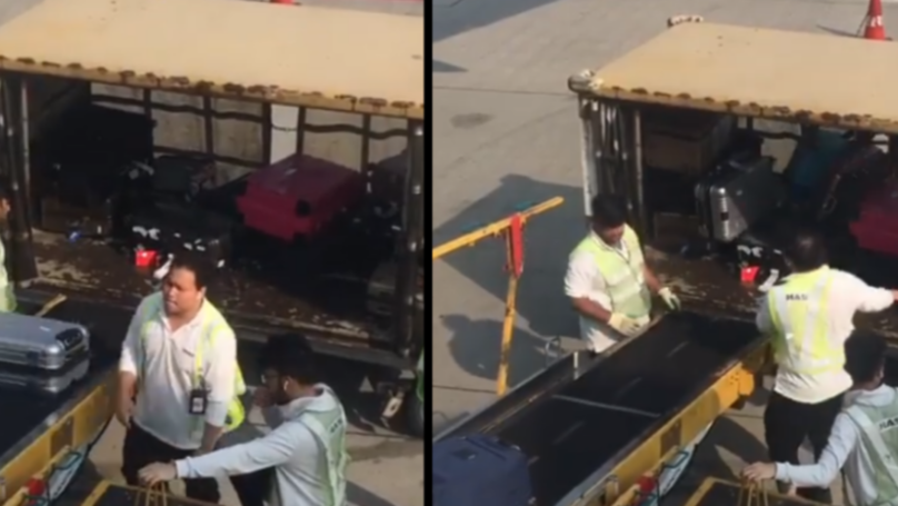 Reckless Baggage Handlers Filmed Tossing 'Beloved' Luggage At Airport