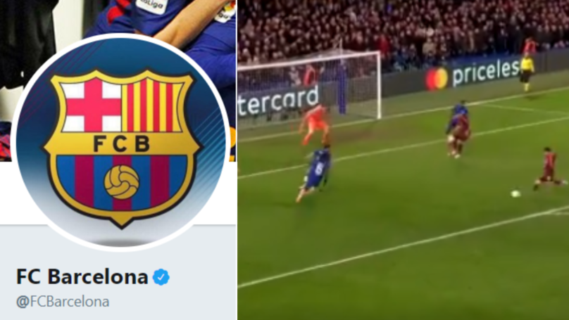 Barcelona's Tweet After Lionel Messi Finally Scored Against Chelsea After 730 Minutes Is Spot On