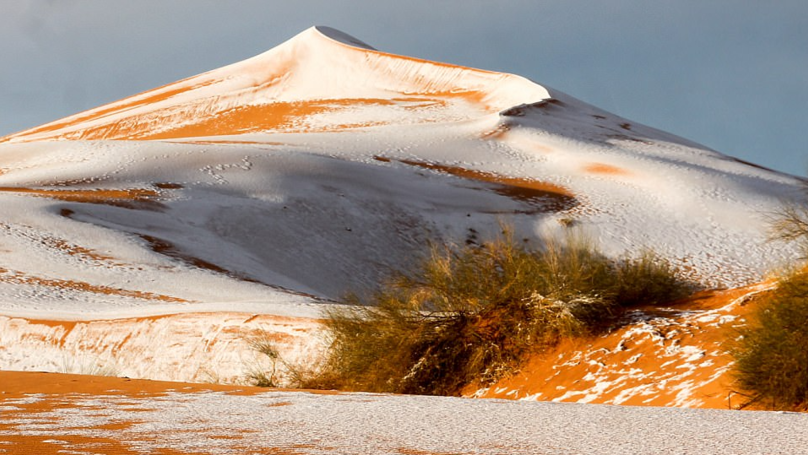 Snow Falls On Sahara Desert For The Third Time In 40 Years