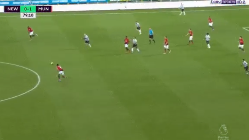 Alexis Sanchez Wasn't Even In The Picture To Start Marcus Rashford's Goal