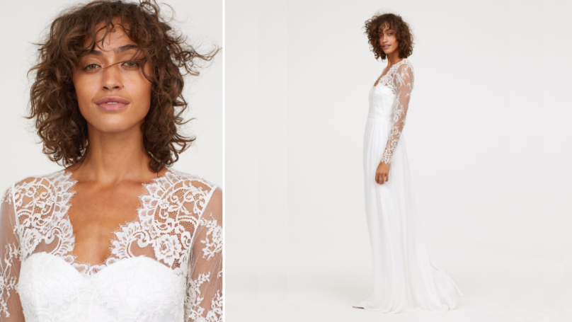 H&M Is Selling A Dupe Of Kate Middleton's Wedding Dress And It's Beautiful