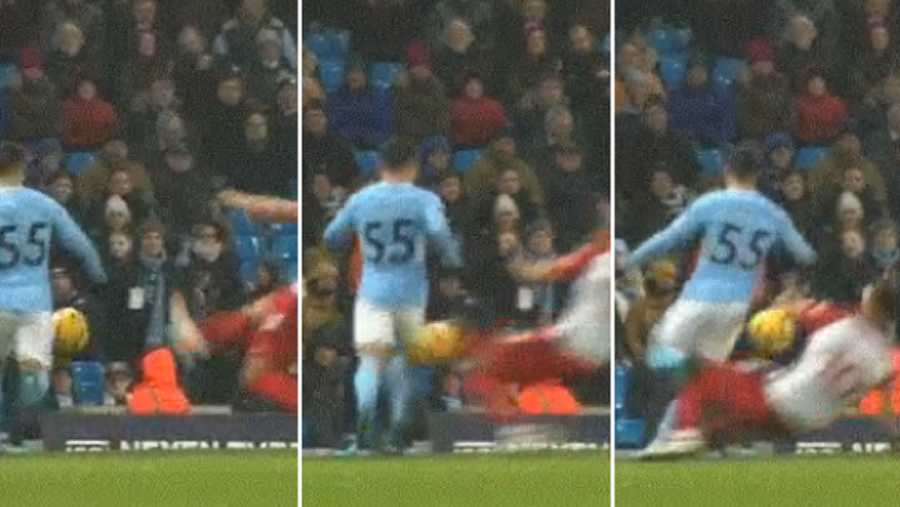 Man City Fans Can't Believe Matt Phillips Wasn't Sent Off For This Shocking Tackle
