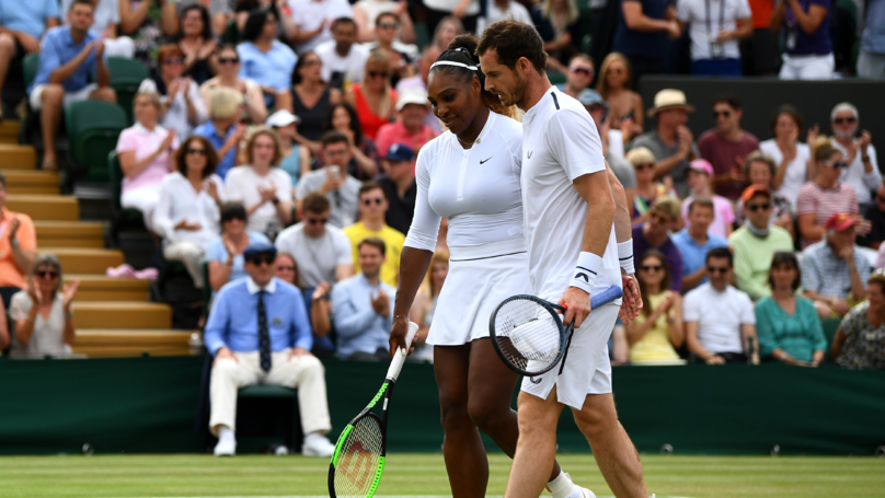 Serena Williams And Andy Murray Eliminated From Wimbledon Mixed Doubles