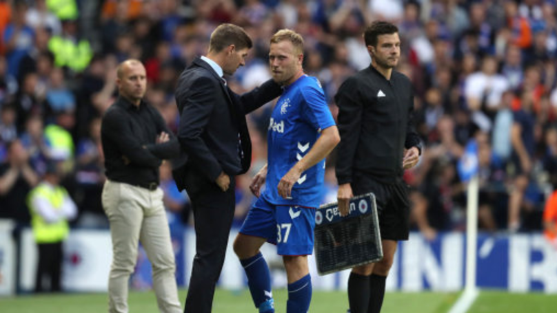 Steven Gerrard Proves He Could Still Play With Sublime Touchline Flick