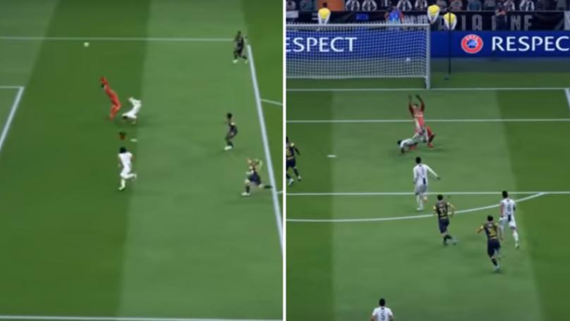 Brilliant Douglas Costa Scorpio Kick From FIFA 19