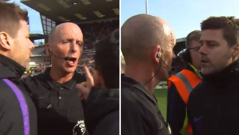 Mauricio Pochettino Looked Like He Wanted To Fight Mike Dean At The Final Whistle