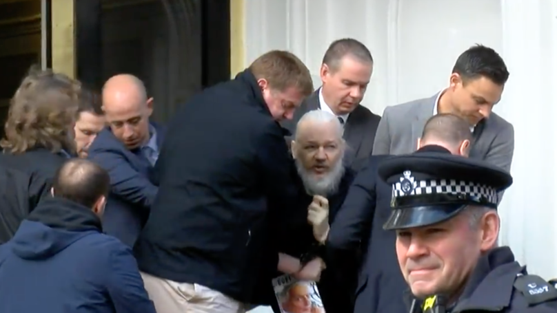 Wikileaks Founder Julian Assange Has Been Dragged From Ecuadorian Embassy And Arrested