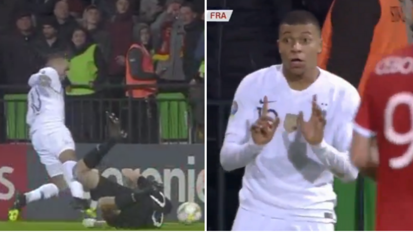 Kylian Mbappe Produced An Absolutely Shocking Dive In France's Win Over Moldova