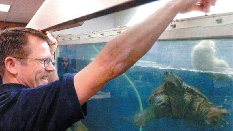 ​Teacher Who Fed Live Puppy To Turtle In Front Of Students Charged