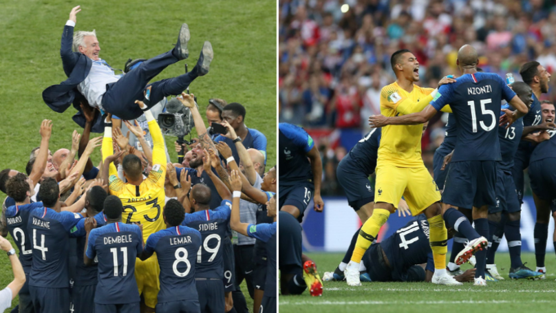 One Of The France Squad Is A World Cup Winner Without Winning A Cap