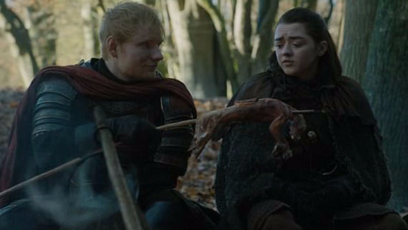 Ed Sheeran Sings In Game Of Thrones Opener With Mixed Responses - 17 hilarious reactions to ed sheeran appearing in game of thrones