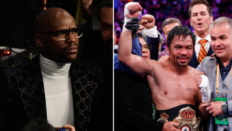 Floyd Mayweather Brutally Responds To Manny Pacquiao's Call-Out For Rematch