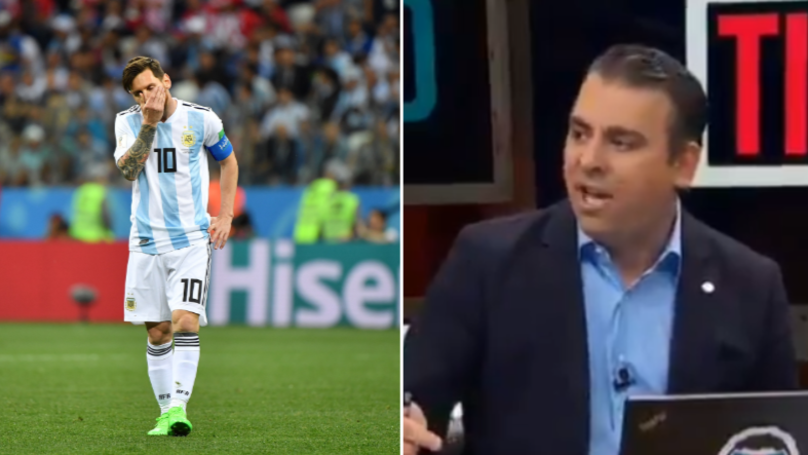 Pundit Goes On Crazy Rant To 'Prove' Cristiano Ronaldo Is Better Than Lionel Messi