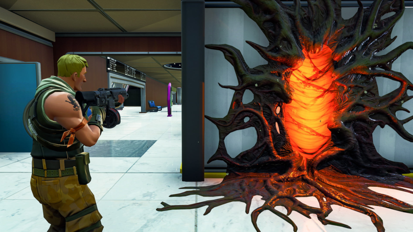 'Stranger Things' Portals Are PoppIng Up In 'Fortnite'